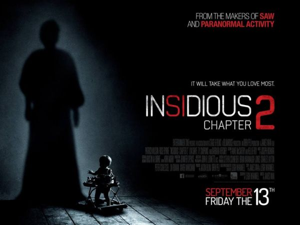 """Insidious Chapter 2"" ($41 M) debuted as September's second-highest movie opening ever behind 2012's animated ""Hotel Transylvania"" ($42.5M)"