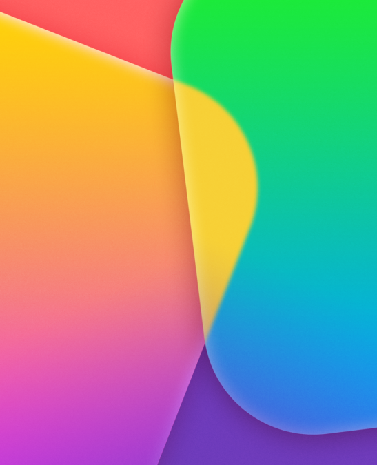 Download the new iOS7 Wallpapers Now