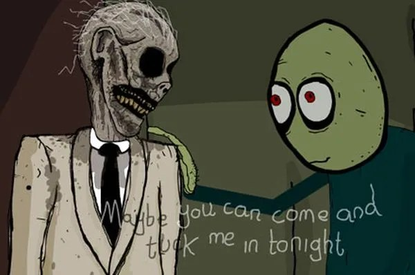 "Creepy ""Salad Fingers"" is Awesome"