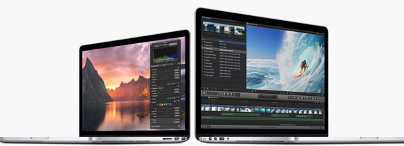The two new Macbook Pro models