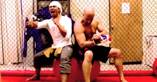 Insane Tony Jaa and Vin Diesel Combat Training for Fast & Furious 7