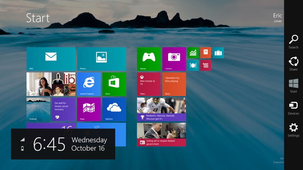 Top 5 New Features of Windows 8.1