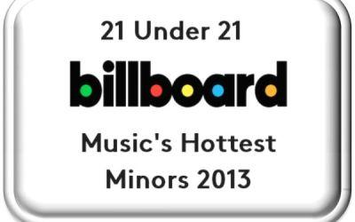 Billboard's 21 Under 21: Music's Hottest Minors 2013