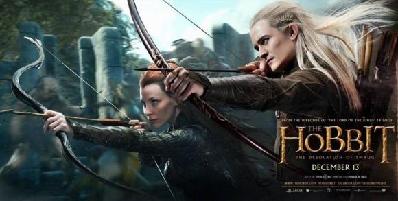 Legolas will be pointing his 'arrow' at Tauriel