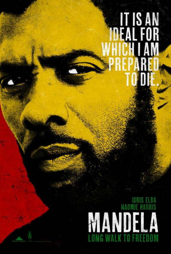 """Mandela: Long Walk to Freedom"" poster"