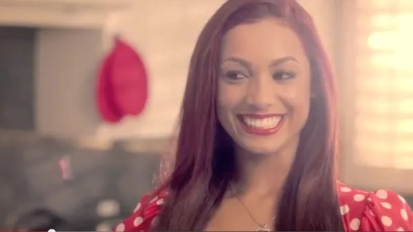 Screen Capture: Danielle Curiel in the kitchen