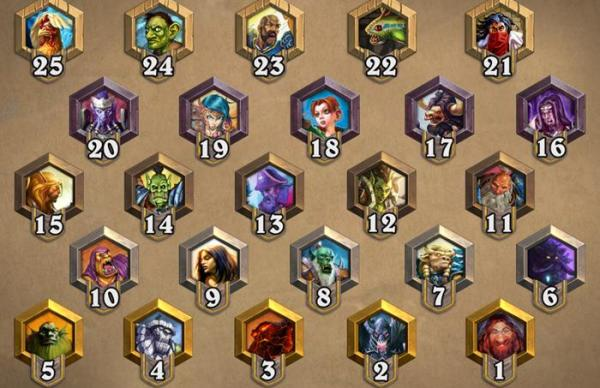 HearthStone - New Medals and Ranked Play