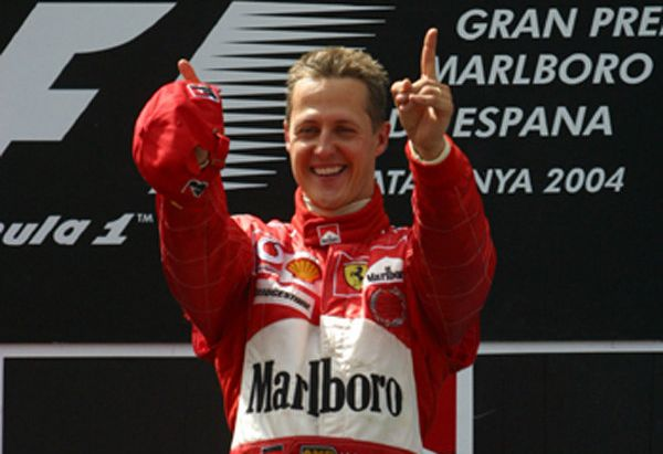 Michael Schumacher  is widely regarded as one of the greatest F1 drivers of all time