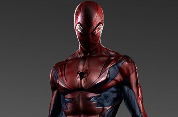 """Unused """"Amazing Spider-Man"""" Costume Concept Art"""