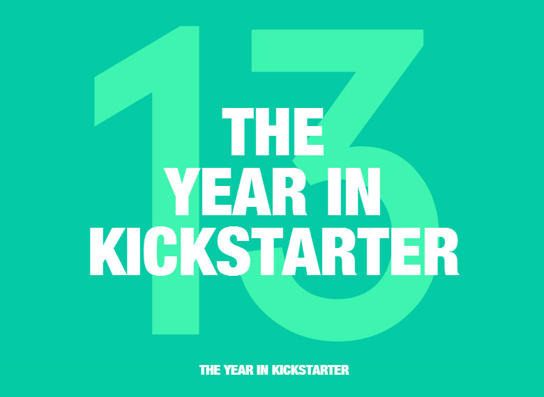Kickstarter Review 2013 – All the stats and funding