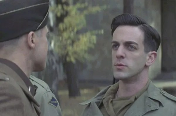 "B.J. Novak is best known for playing Smithson Utivich aka ""The Little One"" in ""Inglourious Basterds"""