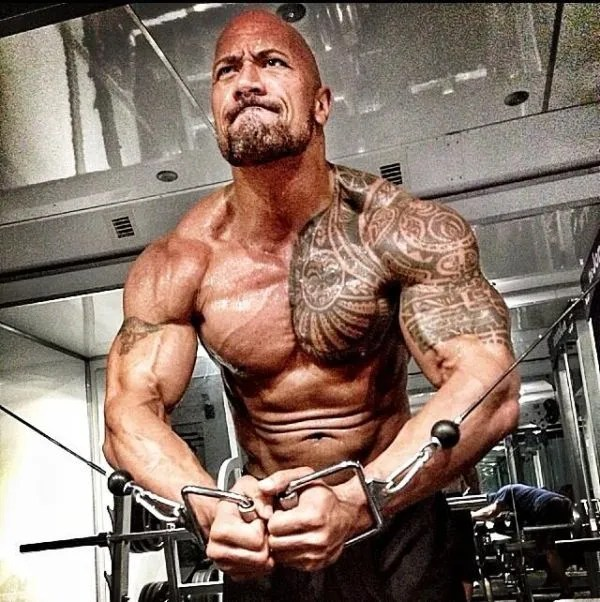The Rock is looking fighting fit in some of his latest pics