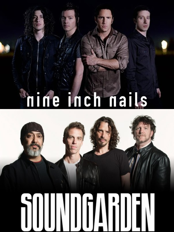 Nine Inch Nails and Soundgarden