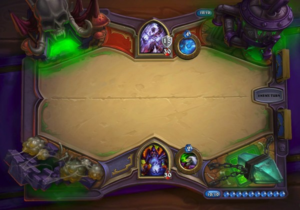 HearthStone Naxx new game board