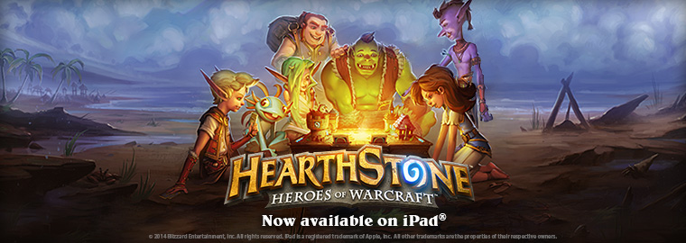 HearthStone Officially Available on iPad
