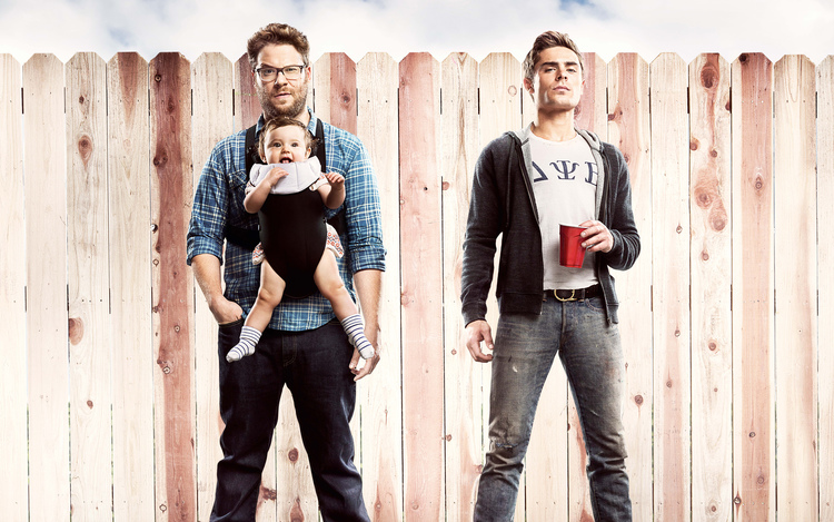 New Red Band Trailer for Neighbors Starring Zac Efron and Seth Rogen