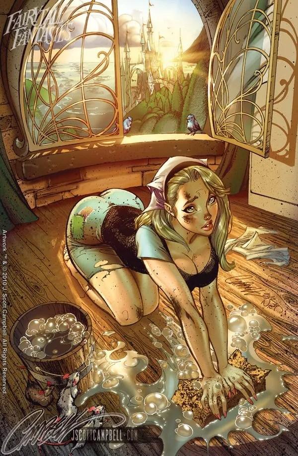 Fairy Tale Fantasy Art by J. Scott Campbell
