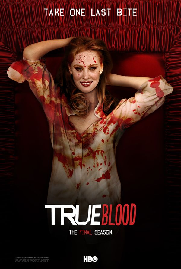 """True Blood"" Season 7 poster - Courtesy of HBO.com"