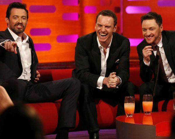 Hugh Jackman, Michael Fassbender And James McAvoy