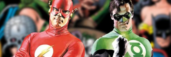 """The Flash and Green Lantern Adventure"""