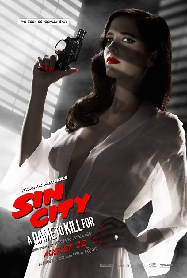 Eva Green Responds to MPAA Banned Sin City 2 Poster