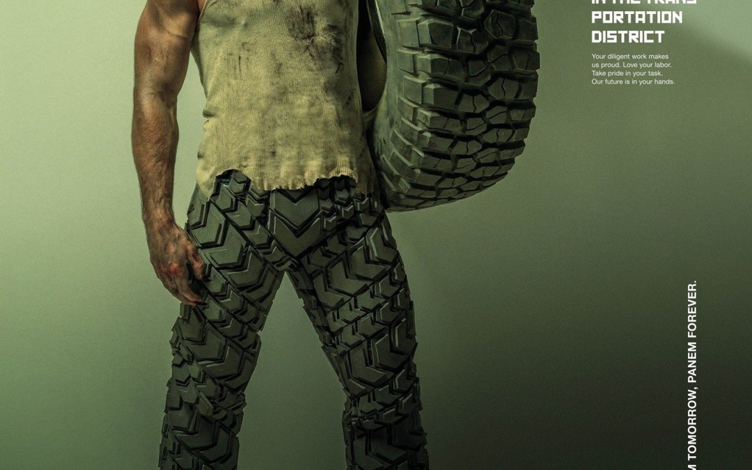 'Hunger Games: Mockingjay, Part 1′ Transportation District Poster