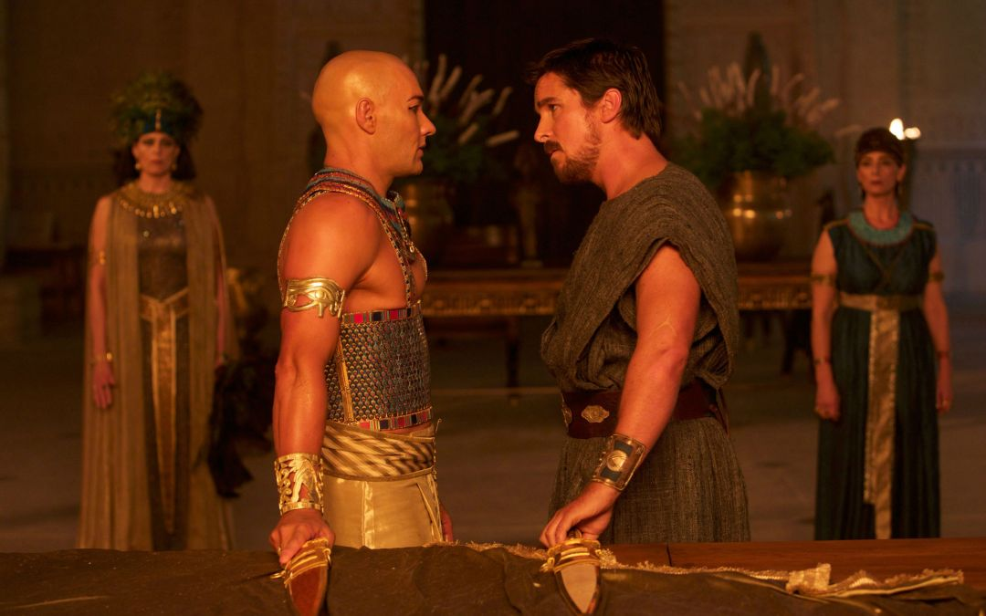 Epic First Trailer for Christian Bale in Exodus: Gods and Kings