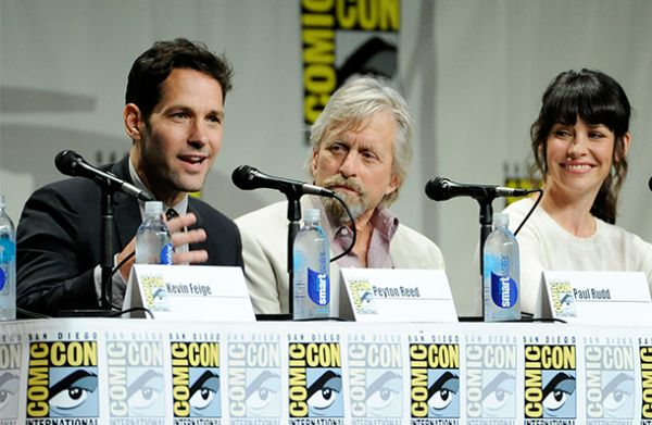 Ant-Man Cast Members: Paul Rudd, Michael Douglas and Evangeline Lilly.(image courtesy of philstar.com)