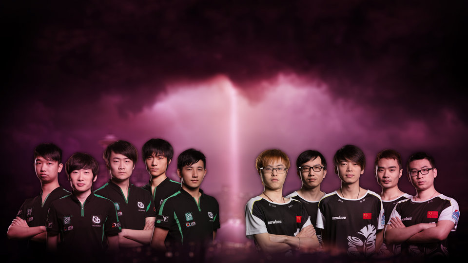 DOTA 2 2014 International Finalists – Newbee vs ViCi