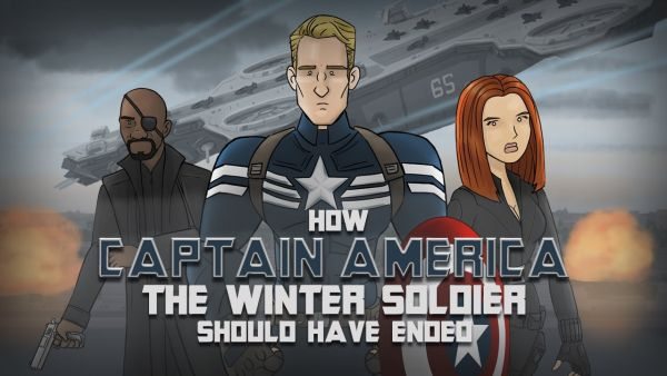 This is How 'Captain America: The Winter Soldier' Could Have Ended