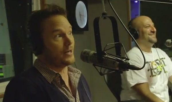 Image of Chris Pratt Rapping 'Forgot About Dre' courtesy of YouTube