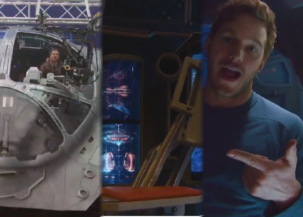 Check out the 'Guardians of the Galaxy' Milano Spaceship Cribs Tour with Chris Pratt