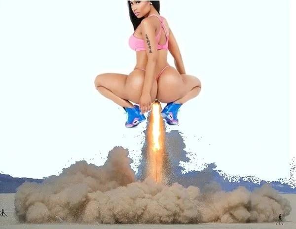 The Nicki Minaj 'Anaconda' Fart Remix Music Video is Exactly what we Wanted!