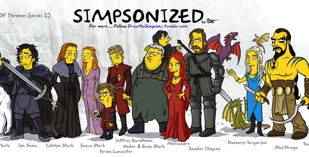 Simpsonize Your Favourite TV Show As Simpsons Characters