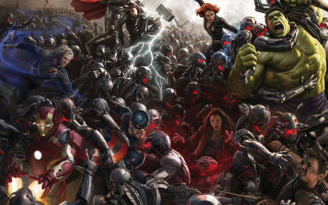 Complete 'Avengers: Age of Ultron' Wallpaper Released