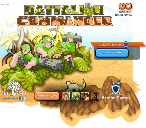Free Online Game: Battalion Commander