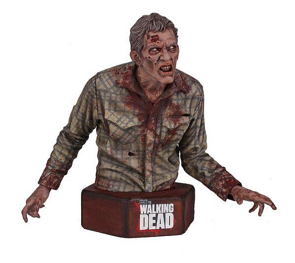 The Walking Dead Sophia Stalker Walker Zombie Mini Action Figure Bust