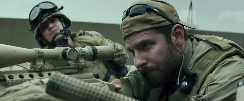 American Sniper Trailer Starring Bradley Cooper Hits The Mark