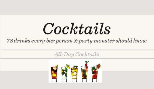 Infographic – 78 Cocktails For New Year's Eve