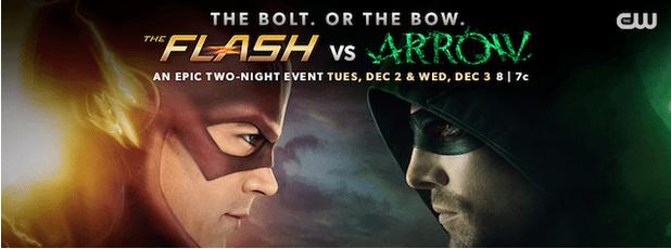 It's Flash vs Arrow In Double Episode Cross-Over