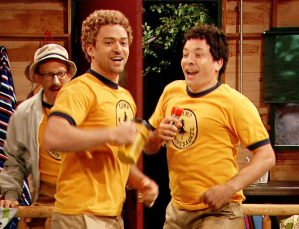 Jimmy Fallon and Justin Timberlake Reprise Teen Personas in 'Tonight Show' Skit