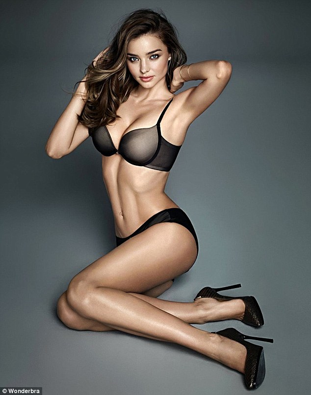 Miranda Kerr 2015 Sexy WonderBra Shoot 1