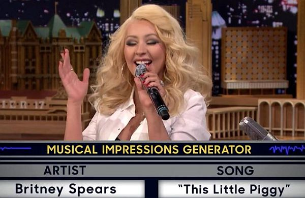 Christina Aguilera's 'Wheel of Musical Impressions' On Jimmy Fallon Hits 21 Million Views