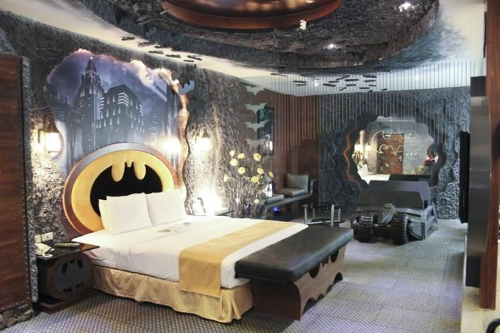This Batman Themed Suite Is Fit for Bruce Wayne or Ron Jeremy