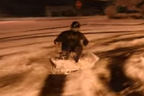 Video – Redneck Truck Sledding And The Obvious Ending!