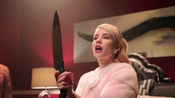 'Scream Queens' Teaser: Emma Roberts Looks Killer!