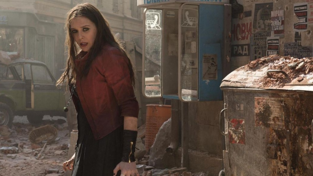 Quicksilver And Scarlet Witch Set photos on Captain America 3 – Civil War