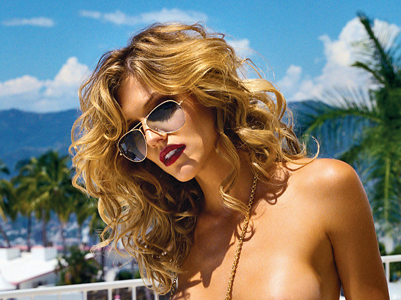Here's the Stunningly Sexy 2007 Tricia Helfer Playboy Shoot [NSFW]