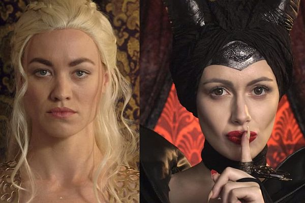 Video: Enjoy Friday with Maleficent and Danerys Targaryen's Princess Rap Battle