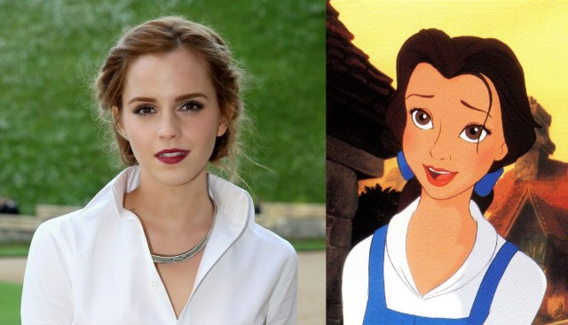 Emma Watson Belle Beauty and the beast 2